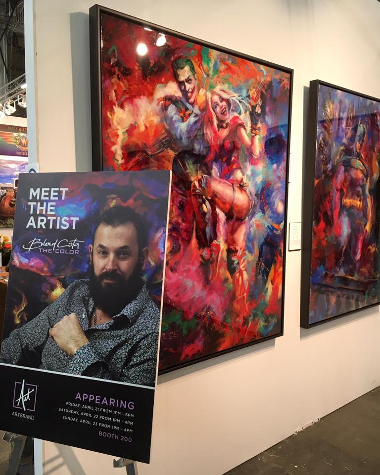 Blend Cota show display