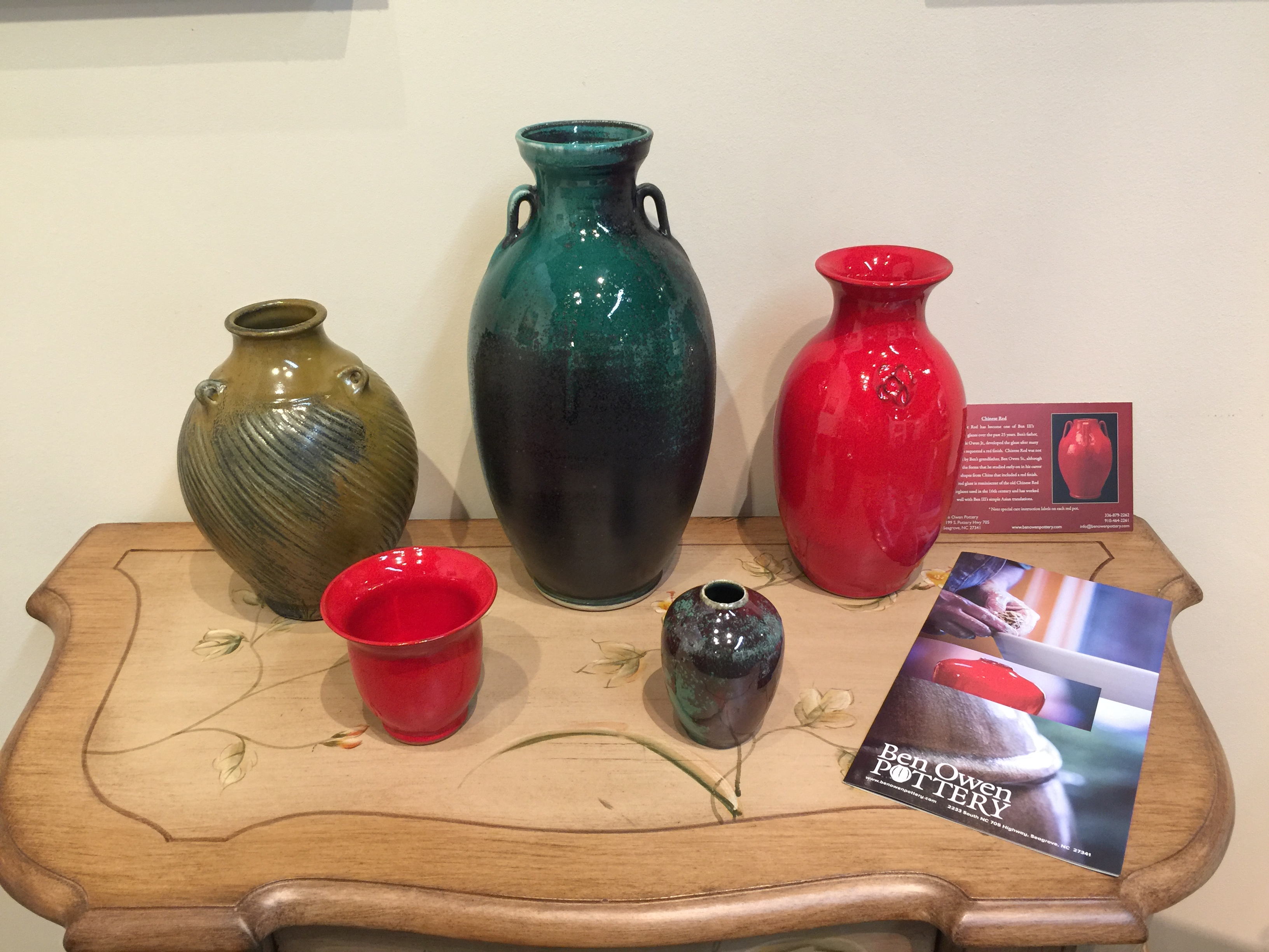 North Carolina's most celebrated potter living today
