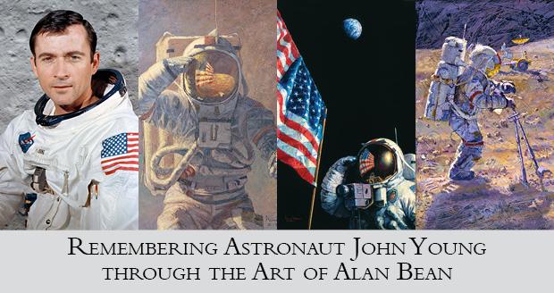 through the art of Alan Bean